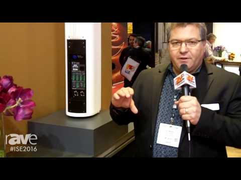 ISE 2016: Meyer Sound Presents CAL, Column Array Loudspeaker