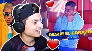 REACCIONO a BAD BUNNY🔥DESDE EL CORAZON!!❤️ (Oficial Video) - Themaxready