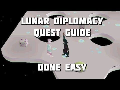 Runescape 2007 Lunar Diplomacy Quest Guide – Quest Guides Done Easy – Framed