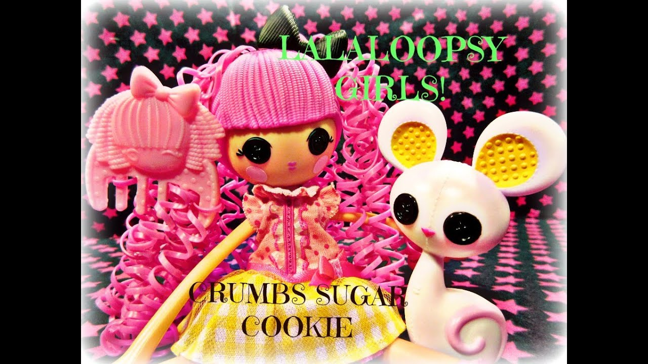 Lalaloopsy Crumbs Sugar Cookie Doll Lalaloopsy Girls Doll Crumbs