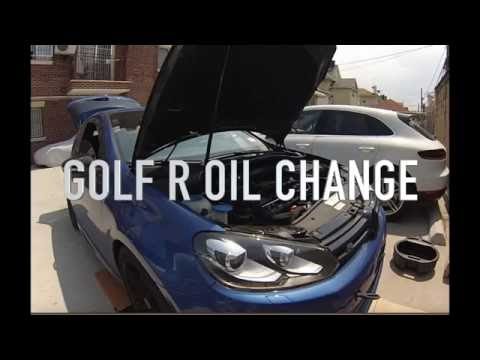DIY: Oil change on the MK5 MK6 Golf GTI R 2.0T FSI Engine
