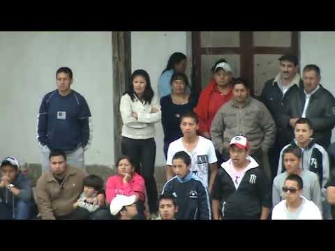 Ecuavóley de Gancheros en las Fiestas de Corraleja 2011 HD