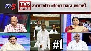 బంగారు తెలంగాణ రాత్రికి రాత్రే సాధ్యమా..? | Telangana Political Heat | News Scan #1