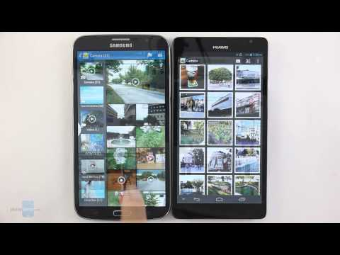 Samsung Galaxy Mega 6.3 vs Huawei Ascend Mate