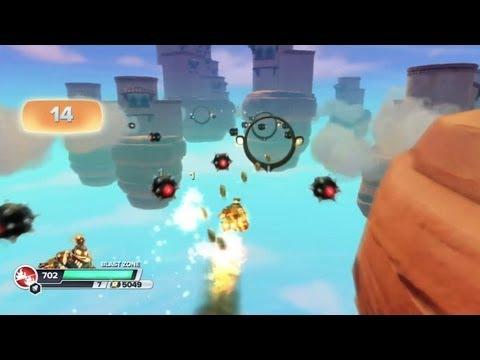 Skylanders: Swap Force - Blast Zone Gameplay + Rocket Swap Force Zone!