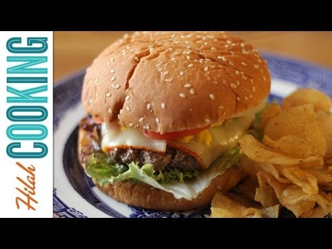 How To Make a Perfect, Juicy Cheeseburger!