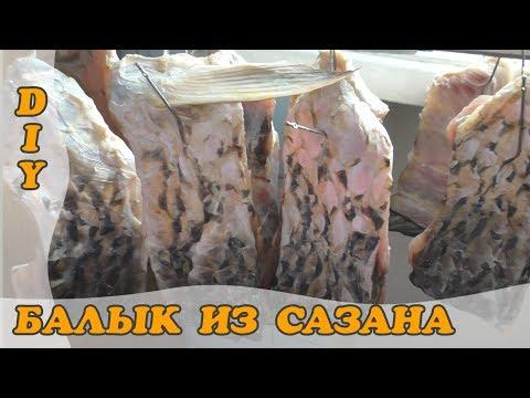 видео балык из сазана в домашних условиях видео