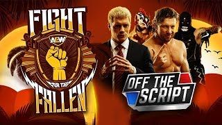 AEW Fight For The Fallen Full Show Review & Results: THE YOUNG BUCKS VS THE RHODES BROTHERS