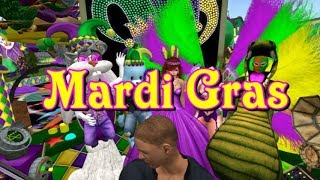Giant snail race 501 18 Feb 03 Mardi Gras