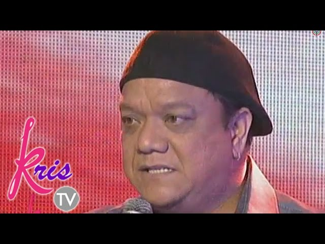 Kris TV: Mitoy Yonting sings 'May Bukas Pa' on Kris TV