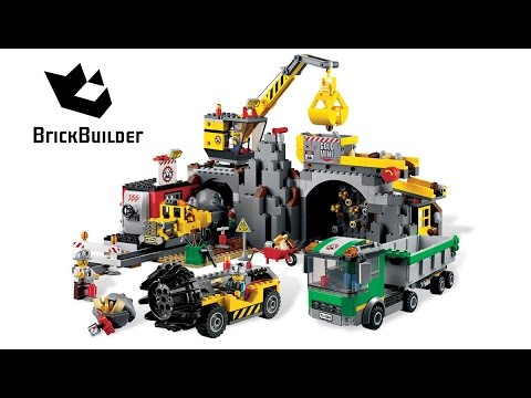 Lego City 4204 The Mine - Lego Speed Build