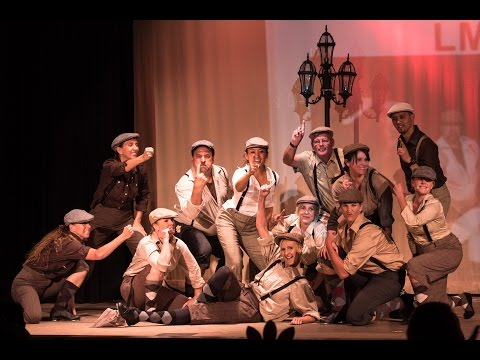 Newsies Medley by Lakeside Middle School - 2015 Air Band