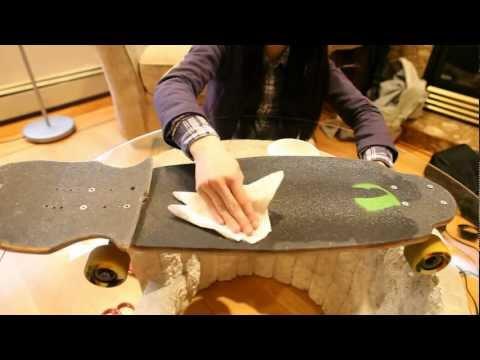 BOARD MAINTENANCE: Grip Tape!