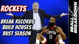 ROCKETS Break Record, Build Houses, Bust Season in Game 7