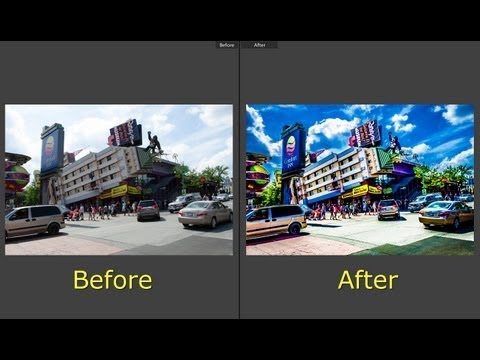 Learn Lightroom 5 - Part 15: Create An HDR Like Effect With Lightroom ...
