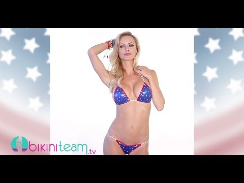 Tami Donaldson Sexy Patriotic Babe Video 2014 BikiniTeam.com