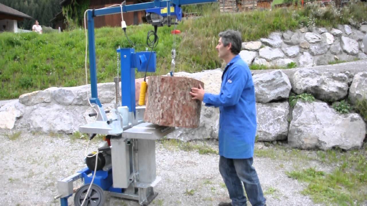 Holzspalter Mit Kran Holzspalter Binderberger Mit