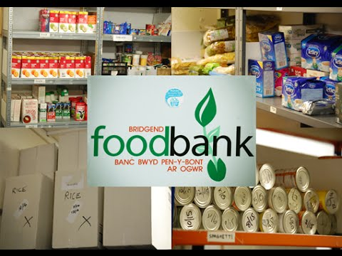 UK Govt: Foodbanks Not Needed? Bridgend Shows REAL Need!