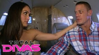 John Cena and Nikki Bella get emotional on the way to Pensacola: PREVIEW Total Divas, Nov. 17, 2013
