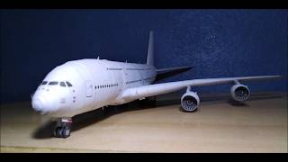 Airbus 380 Papercraft (1:120) Instructions