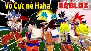 Roblox - Cách Biến Hình Tất Cả Các Trạng Thái SSJ Của Goku Từ SSJ Đến MUI Haha - Goku Simulator