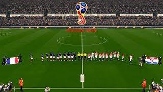 France vs Croatia - FINAL FIFA World Cup RUSSIA 2018 Gameplay