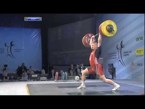 Men 105 kg clean & jerk European Weightlifting Championships Tirana 20...
