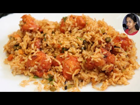 கோபி பிரைட் ரைஸ் | Gobi Fried Rice in Tamil | Cauliflower Fried Rice | Selva Priya's Kitchen