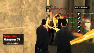 GTA SA-MP Mini-Missions Police Vs Managers (Failed)