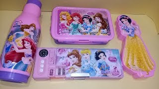 Barbie special pencil box tiffin box Water bottles combo set