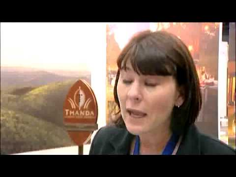 Anita Vernes, Marketing Director, Thanda Game Reserve, SA @ INDABA 2010