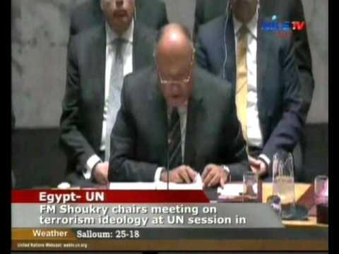 Egypt-UN  Sameh Shokry 11-05-2016