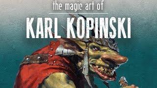 The Magic Art of Karl Kopinski
