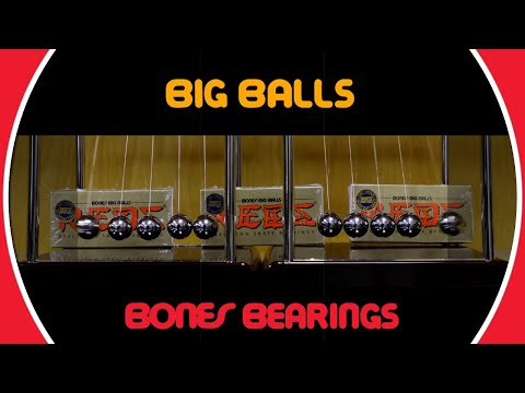 Bones Bearings BIG BALLS - Clip #5 Newton's cradle II