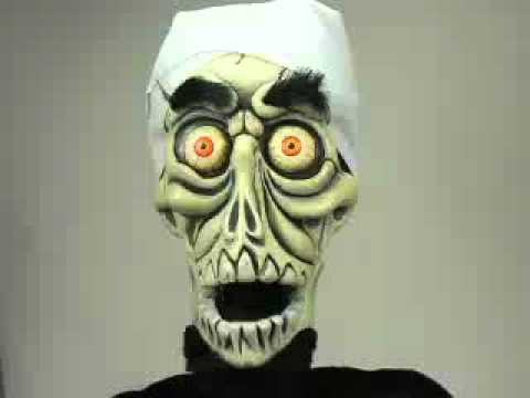 Achmed Suitcase Posse Talking Doll