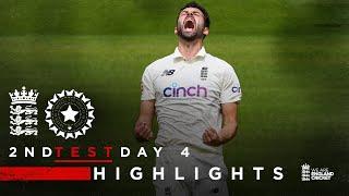 Wood Sets Up Final Day Thriller!   England v India - Day 4 Highlights   2nd LV= Insurance Test 2021