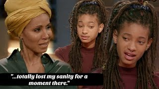 Willow Smith Opens Up To Her Mom & Grandmother About Cutting Herself │ Reaction