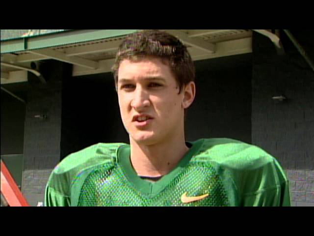 Dyland Ausherman Post-Practice (4/18/13)