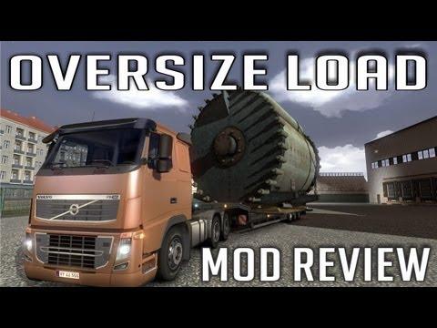 Oversize Load - Agabaritic Trailers by Carlos Silva (Euro Truck Simulator 2)
