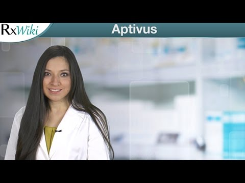 Overview of Aptivus a Prescription Medication Used to Treat HIV