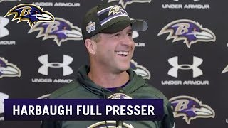 John Harbaugh Likes Thursday Night Football | Baltimore Ravens