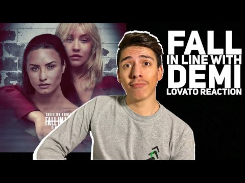 Christina Aguilera-Fall In Line (lyric Video) ft Demi Lovato Reaction |E2 Reacts #1