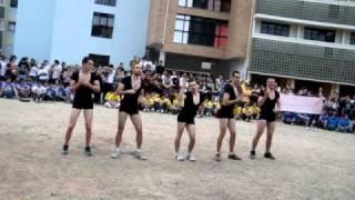XI Trote Integrado do CTC na UFSC - Prova da dança - Engenharia Civil