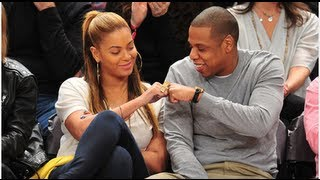 Beyoncé Dancing Courtside at Knicks Game With With Jay-Z