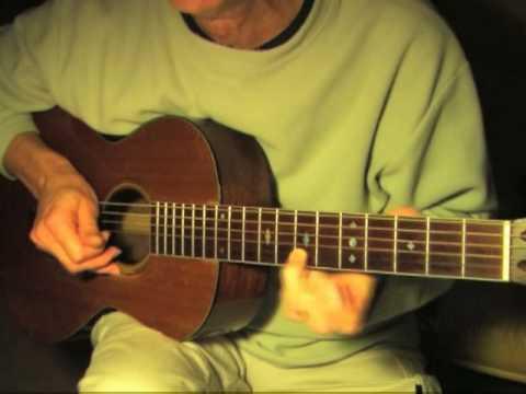 Fingerpicking Blues Lesson/Free TAB - Drop-D Blues