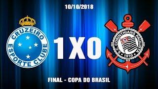 Cruzeiro 1x0 Corinthians   Final Copa do Brasil 2018   Melhores Momentos e Gols Completo