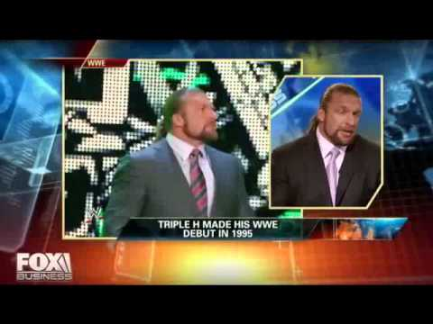 Triple H is the Real Executive Vice President of Talent Relations !!.flv