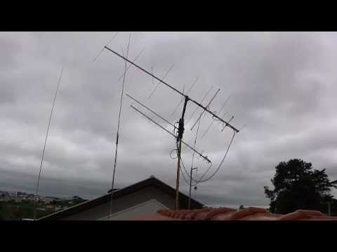 My Antenna Seeking For The ARISSAT-1 in 29DEC2011