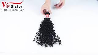 vip sister hair Indian curly virgin hair ,mink hair,raw hair supplier