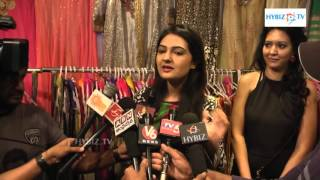 Sri Nilayam Movie Actress Neha Deshpande Launches Trendz Vivah Collection in Hyderabad